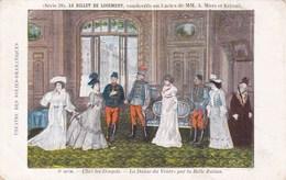 Illustration Theatre Des Folies Dramatiques Vaudeville Billet De Logement Mars Et Keroul Danse Du Ventre Belle Zulma - Théâtre