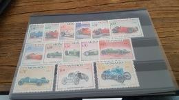 LOT 377561 TIMBRE DE MONACO NEUF* N°708 A 721 VALEUR 24 EUROS - Monaco