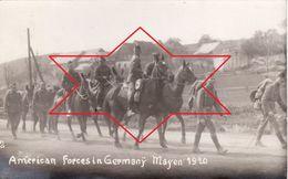 CP Photo Septembre 1920 MAYEN - American Forces In Germany, 50th Infantry, Lt Weas, Soldat Américain (A184, Ww1, Wk 1) - Guerre 1914-18
