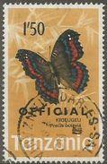Tanzania - 1973 Butterfly Official 1.50s Used   SG O47  Sc O25 - Tanzania (1964-...)