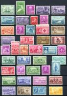 US 1947-50 - Ex Sc.951-997 (42 Stamps) MNH (postfrisch) VF - Stati Uniti