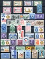 US 1960-61 - Ex Mi.766-819 MNH (postfrisch) VF - Stati Uniti