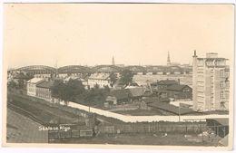 RIGA 1937 Skats Uz Rigu - Real Photo - Lettonie