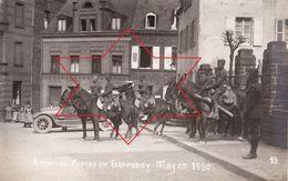 Foto-AK September 1920 MAYEN - American Forces, 50th Infantry, Soldats Américains (A184, Ww1, Wk 1) - Mayen