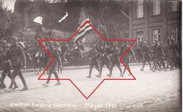 Foto-AK September 1920 MAYEN - American Forces, 50th Infantry, Amerikanische Soldaten (A184, Ww1, Wk 1) - Mayen