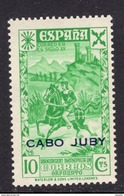 España 1943. Cabo Juby. Beneficencia. Ed 13. MNH. **. - Cabo Juby
