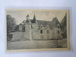 CPA A DONIAS 12 LA BOUEXIERE Château Du Carrefour. - Altri Comuni