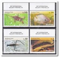 Mauritius 2016, Postfris MNH, Water Animals - Mauritius (1968-...)