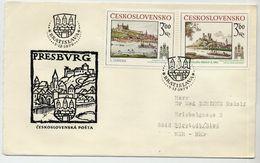CZECHOSLOVAKIA 1979 Historic Bratislava On FDC.  Michel 2539-40 - FDC