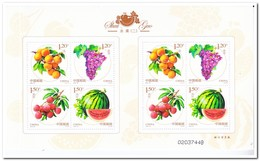 China 2016, Postfris MNH, FRUIT - 1949 - ... Volksrepubliek