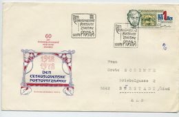 CZECHOSLOVAKIA 1978 Stamp Day On FDC.  Michel 2484 - FDC