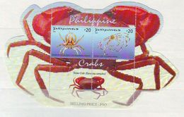 Philippines -  2008 Crabs S/s Mnh - Philippines