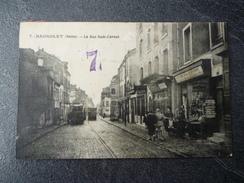 Cpa 93 Bagnolet Le Rue Sadi Carnot - Bagnolet