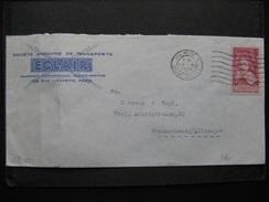 S/L 133 - TB Enveloppe Affranchie Avec N° 305 ;  De Paris  Pour L'Allemagne ( 13/11/1935) - Postmark Collection (Covers)