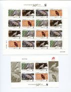 "Macau - Kleinbogen Mi.Nr. 1747 / 50 Und Block Nr. 197 ""WWF 2011"" ** / MNH - 1999-... Chinese Admnistrative Region"