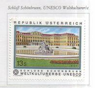 PIA  -  AUSTRIA  -  1999 : Il Castello Di Schonbrunn - Patrimonio Mondiale Dell' Unesco -   (UN 2106) - 1945-.... 2ème République