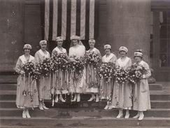 Photo Septembre 1920 KOBLENZ - Femmes Du YMCA Au Château (A184, Ww1, Wk 1) - Guerra 1914-18