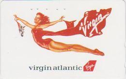 JAPAN - FREECARDS-1018 - 110-160160 - VIRGIN AIRLINE - WOMAN - Japan
