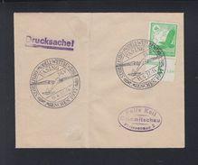 Brief Segelflug-Modell-Wettbewerb Pasing 1937 - Deutschland
