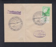Brief Segelflug-Modell-Wettbewerb Pasing 1937 - Storia Postale