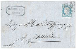 LETTRE   Avec N°60 ; 91 G1;   TTB - 1871-1875 Cérès