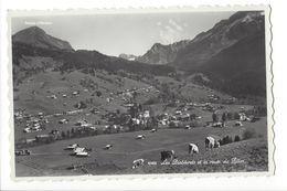 18442 -  Les Diablerets Et La Route Du Pillon Vaches - VD Vaud