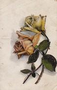 AK Rosen - Blumen - Reste Von Glitter - Ca. 1910/20 (31771) - Blumen