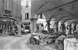SWITZERLAND - RPPC -1954 -  Lugano - Portici Di Via Pessins - VG Street Scene Etc - TI Tessin