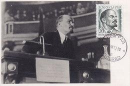 MAXIMUM CARD LENIN - Lenin