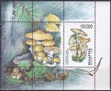 Weißrussland Belarus 1999 Pilze Mushrooms Natur Wald Hallimasch, Bl. 17 ** - Belarus