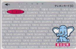 JAPAN - FREECARDS-1084 - 110-63128 - ELEPHANT - Japon