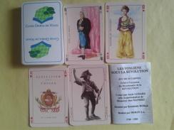 Conseil Général Des Vosges. Les Vosgiens Sous La Révolution. Jeu De  52 Cartes + 2 Jokers. Neuf Sous Blister - Playing Cards (classic)