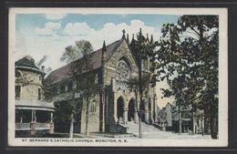 Canada. NB - Moncton. *St. Bernard's Catholic Church...* Nueva. - Other