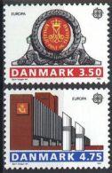 DÄNEMARK 1990 Mi-Nr. 974/75 ** MNH - CEPT - 1990