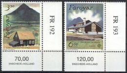 FÄRÖER 1990 Mi-Nr. 198/99 ** MNH - CEPT - 1990