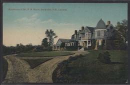 Canada. NB - Sackville. *Residence Of Mr. F. B. Black...* Nueva. - Other