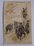Cpa, Trés Belle Carte, Armée Française, Destruction D'une Voie Ferrée Par Le Génie - Guerre 1914-18