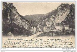 HASTIERE ..-- Nels 7 , N° 33 . Rochers De Tahaut . 1901 Vers LIEGE ( Melle Rosalie TONGLET ) . Voir Verso . - Hastière