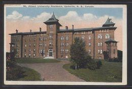 Canada. NB - Sackville. *Mt. Allison University Residence...* Nueva. - Other