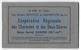 SAINTES  Carnet Complet Coopérative Régionale  (5 Scans) - Saintes