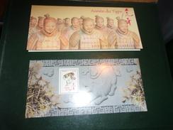 Blocs Souvenir 47 (année Lunaire Chinoise Du TIGRE) - Blocs Souvenir