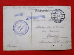 Carte Allemagne  ZOSSEN, 76 YVETOT Camp De Prisonniers Tampons - Postmark Collection (Covers)