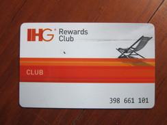 IHG Rewards Club - Hotel Keycards