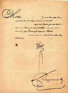 Lettre De LOUIS XV Pour Mise En Liberté De La Bastille. - Documents Historiques