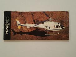 Hélicoptère - Ecureuil As 350 - Carnet De 10 Cartes - Hélicoptères