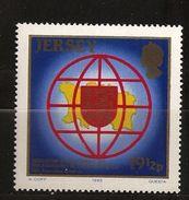 Jersey 1983 N° 297 ** Parlement, Langue Française, AIPLF, Blason, Armoiries, Démocratie, Droits De L'homme, Francophonie - Jersey