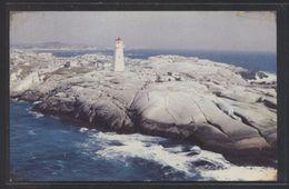 Canada. NS - Peggy's Cove. *Air View, Lighthouse...* Escrita. - Nueva Escosia