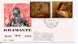 SAN MARINO  -  1969 Paintings By Donato Bramante   FDC1223 - FDC