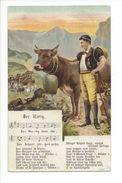 18452 - Der Ustig Armailli Et Sa Vache Der Ustig Wott Cho.... - Berner Volkslied Von Jakob Kuhn - Suisse