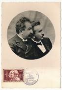 FRANCE => CARTE MAXIMUM => 30 F Auguste Et Louis Lumière - Besançon - 1955 - Cartas Máxima